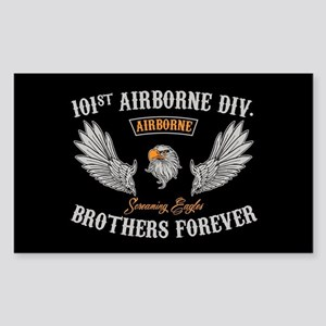 101st Airborne Brothers Sticker (Rectangle)